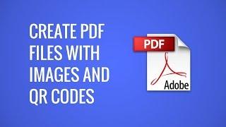 Erstellen Sie PDF-Dokumente mit Bildern und QR-Codes