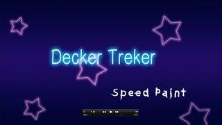 Speed Paint: Decker Treker l Cider Slider Parody Art