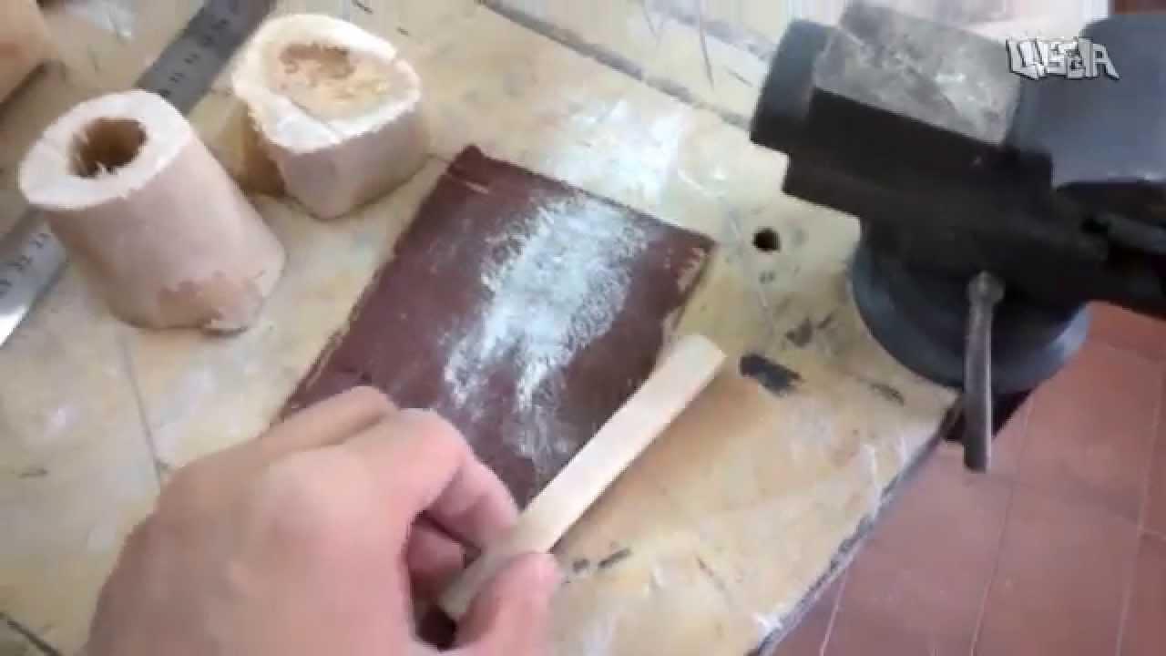 c21f1badc5afd Fabricar Cejilla y Selleta (DIY) HUESOS PARA GUITARRA (Parte 1 ...