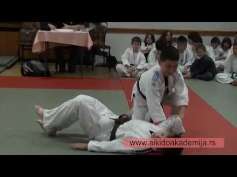 Internacionalna Aikido Akademija:Aikido polaganje za kyu stepene: deca, 14.06.2012.