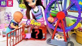 ХОМЯК СБЕЖАЛ! КАТЯ И МАКС СЕМЕЙКА КУКЛЫ история куклы #барби