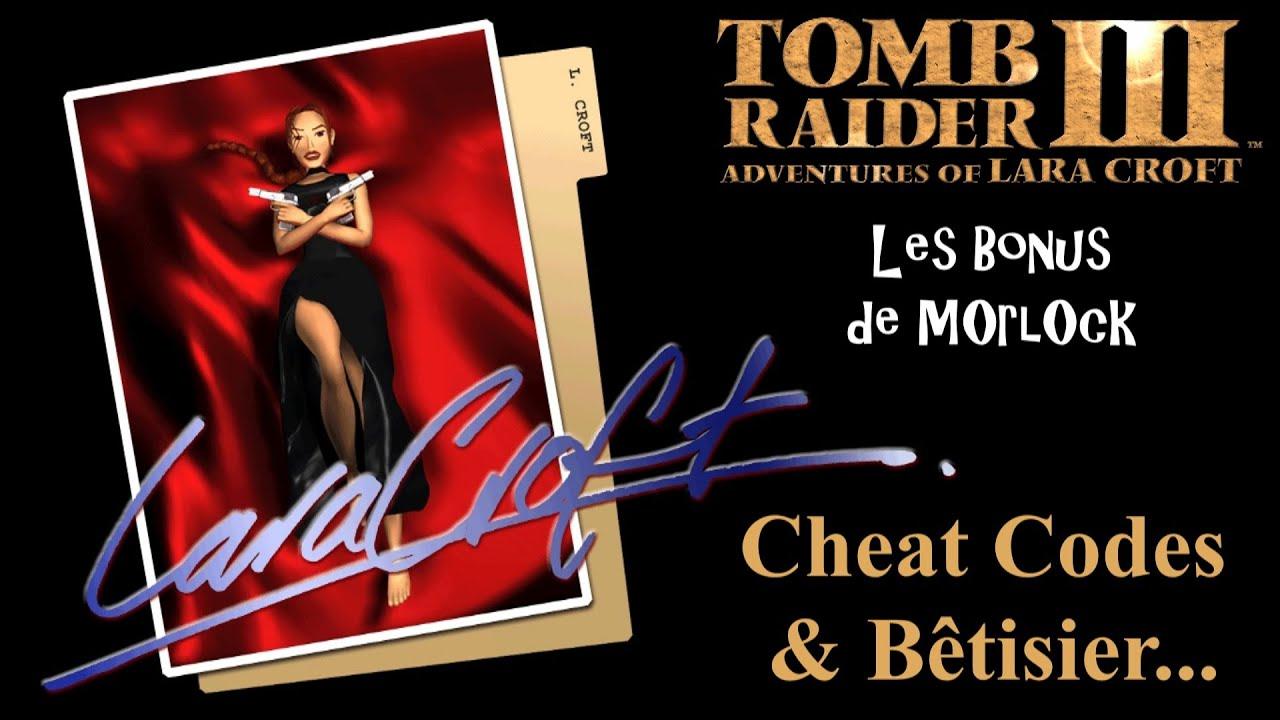 Tomb Raider Cheats