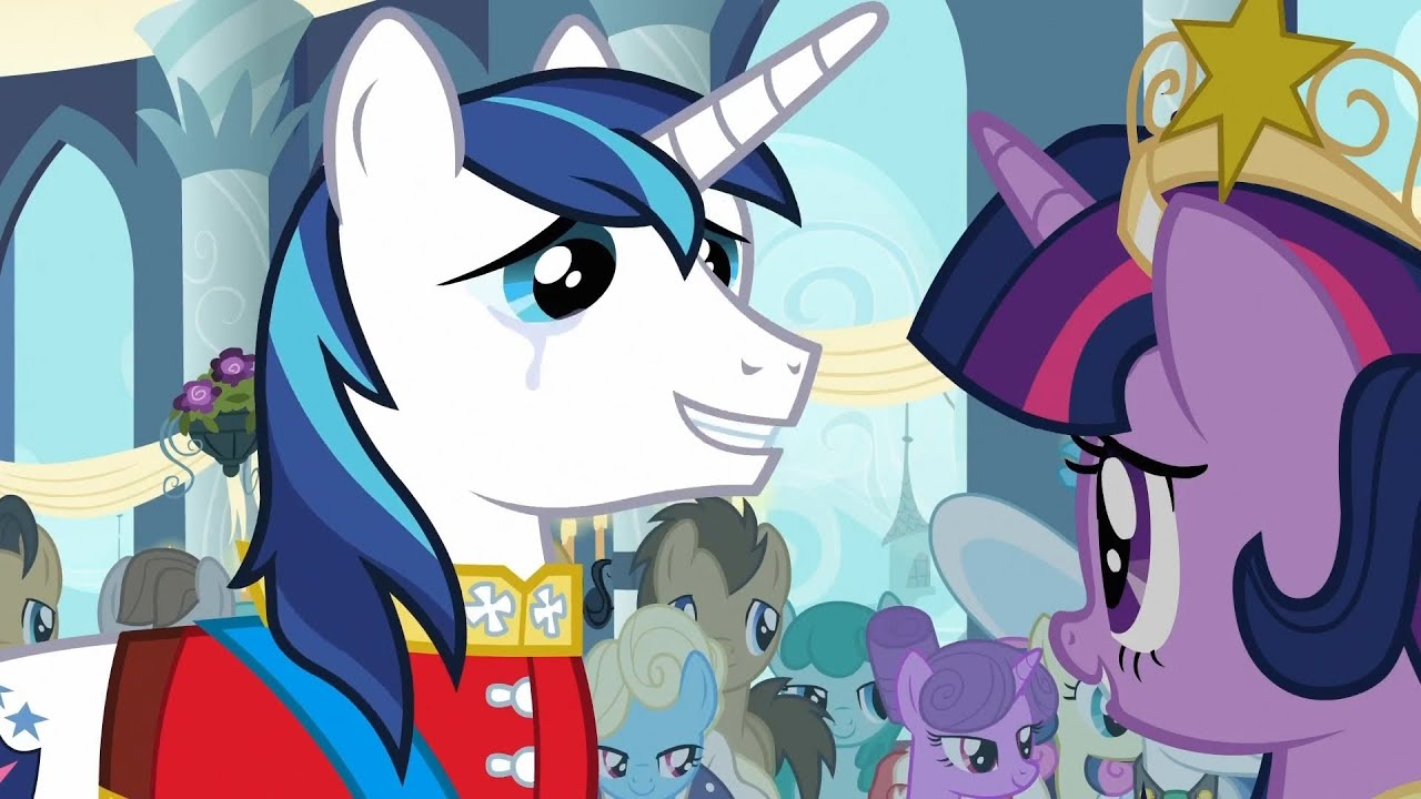 twilight sparkle shining armor are you crying of course not