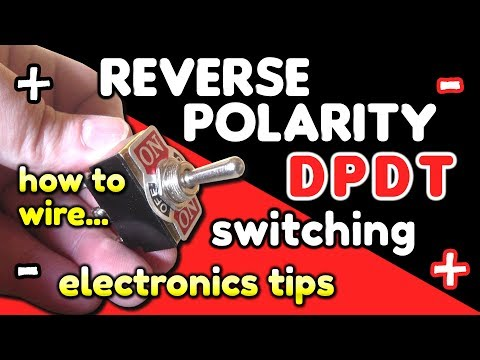 reverse polarity switching dpdt switch wiring by vog (vegoilguy) Reverable Tarp Switch Wiring Diagram relay limit switch on reversing motor