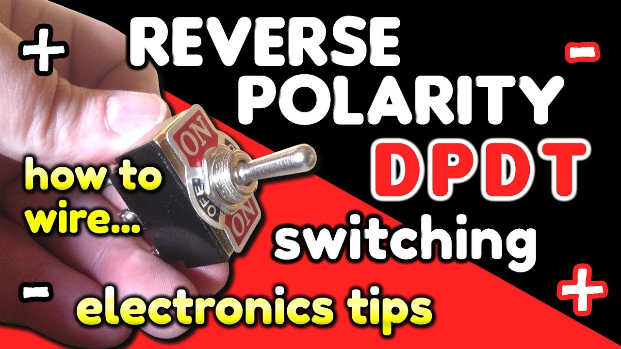 Reverse Polarity Switching  DPDT switch wiring by VegOilGuy  YouTube