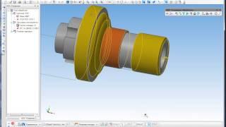 Модуль ЧПУ. Токарная обработка в КОМПАС-3D(Модуль ЧПУ. Токарная обработка -- первое CAM-приложение, полностью интегрированное в систему трехмерного..., 2013-08-28T11:29:01.000Z)
