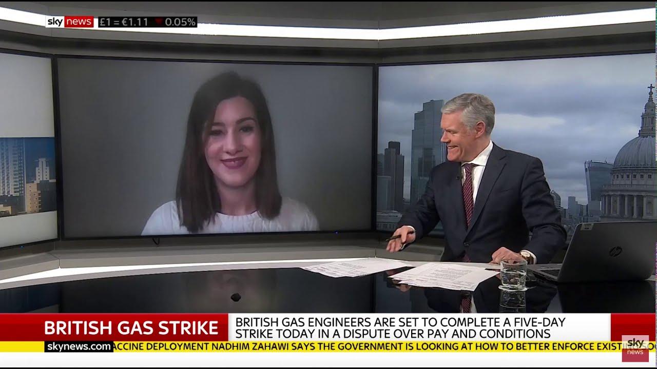 GMB's Hazel Nolan on Sky News | #StopTheBritishGasFire