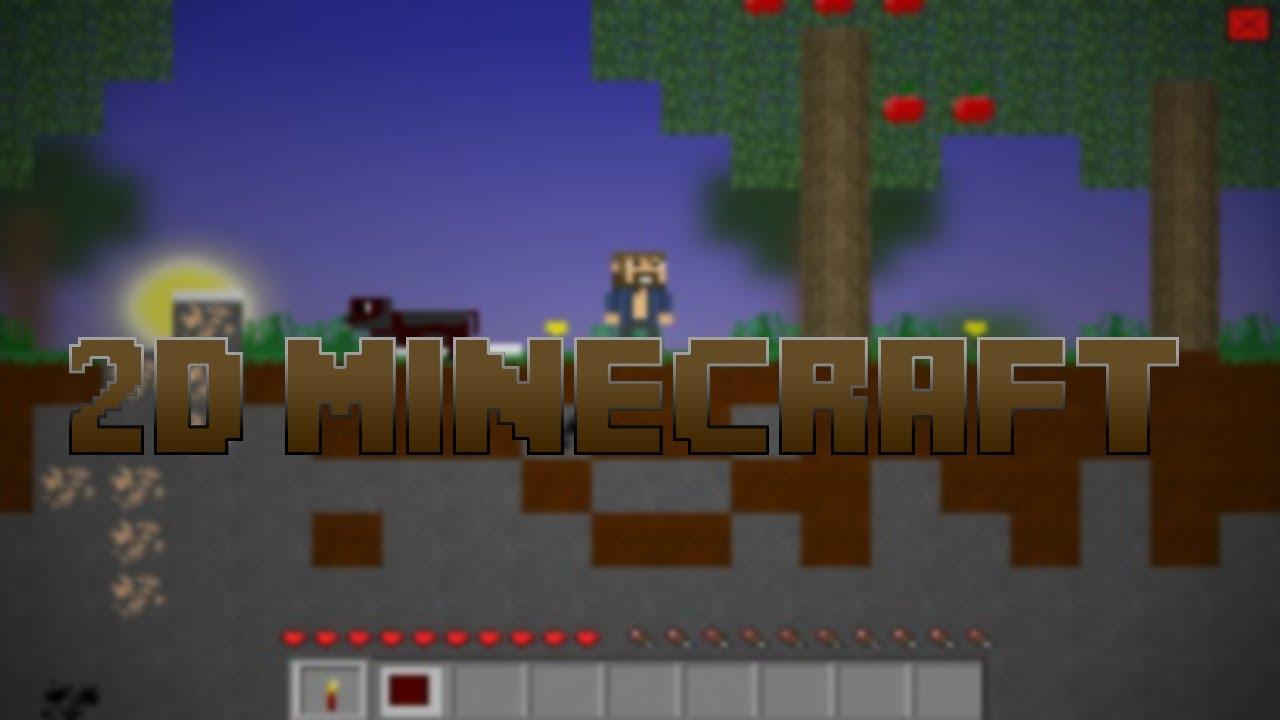 2D Minecraft - Minecraft 2d Game