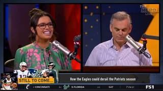 Colin Cowherd Breaking How the Eagles could derail the Patriots season   The Herd