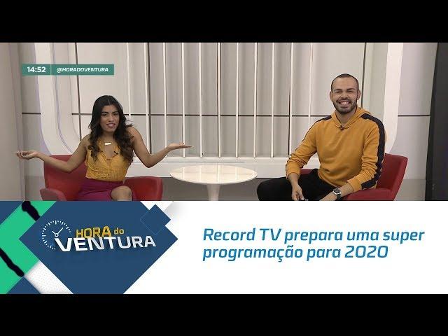 Record TV prepara uma super programação para 2020 - Bloco 02