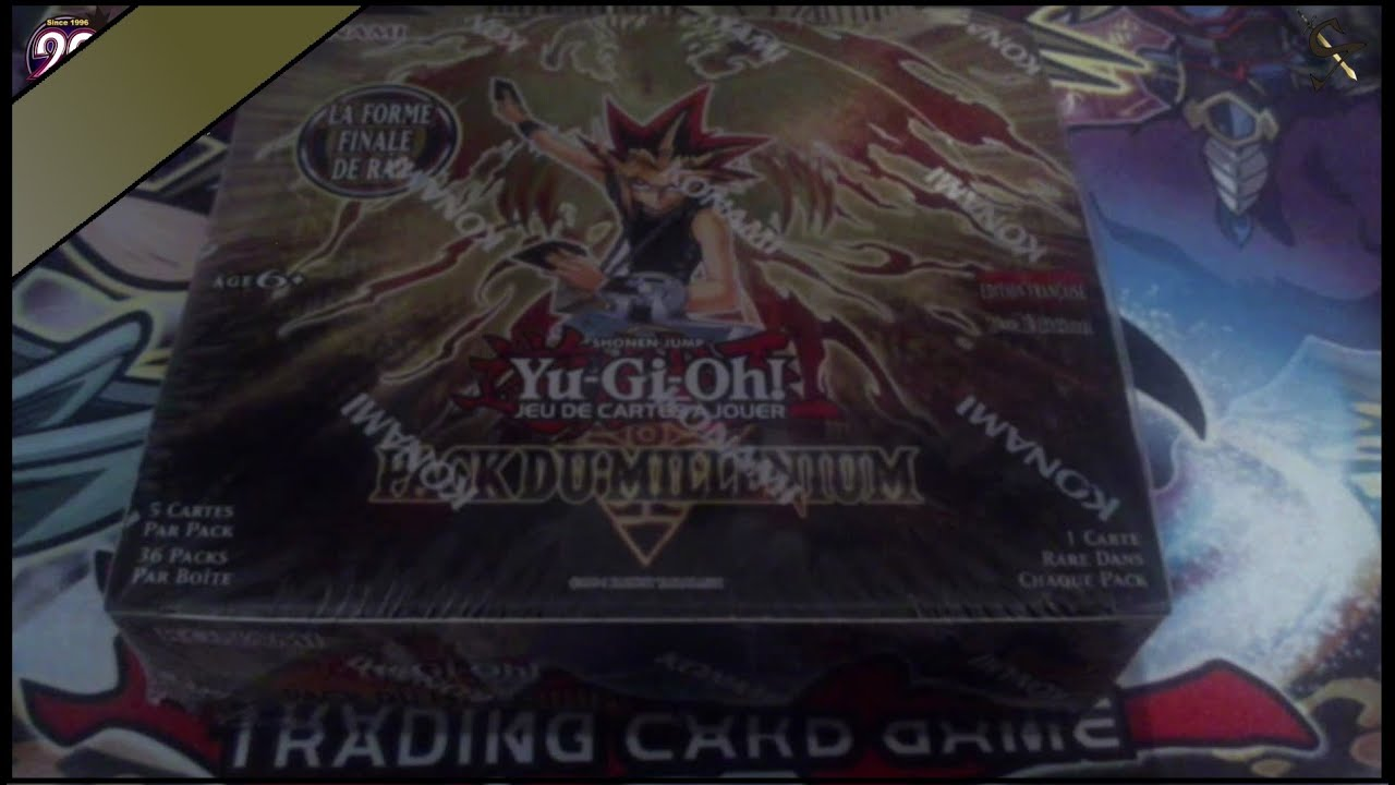 yu gi oh 20th anniversary display pack du mill nium collection complet fr youtube. Black Bedroom Furniture Sets. Home Design Ideas