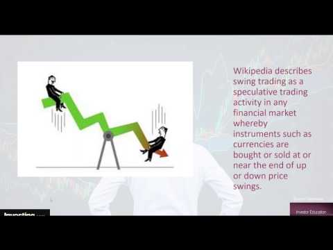 Swing Trading The Best Way To Trade The Markets - Class 1