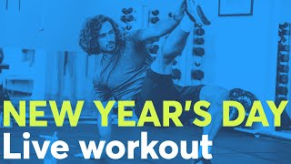 New Years Day Live HIIT Workout | The Body Coach TV | 2020