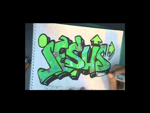 Graffiti Music Video, Background by Lecrae