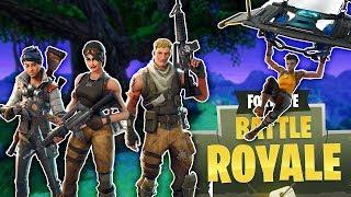 Fortnite Squads! Going For Kills! BR