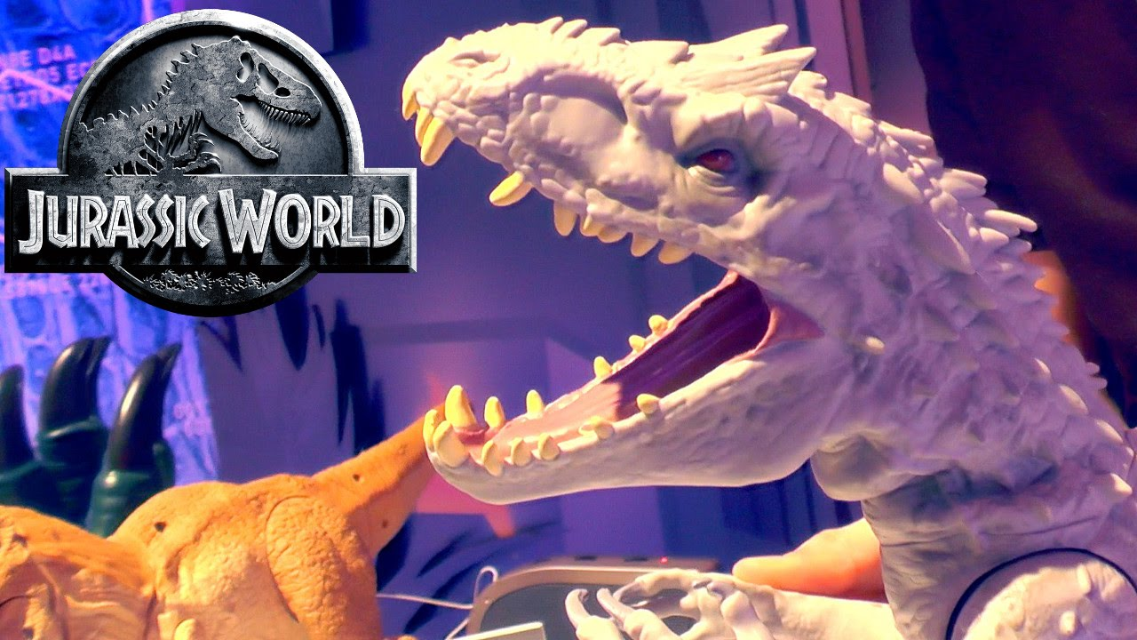 Jurassic World Toys Hasbro Not Mattel Youtube