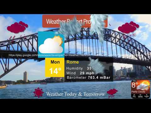 Weather Report Local Weather Forecast Weather Pro   Apps on
