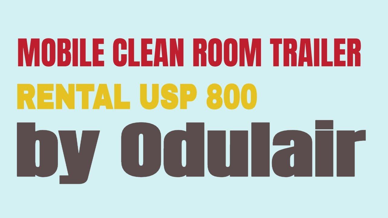 Mobile Clinics ODULAIR: Mobile Compounding Pharmacy USP 800
