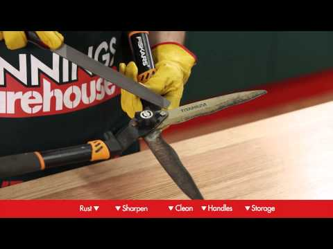 How To Maintain Garden Tools - DIY At Bunnings