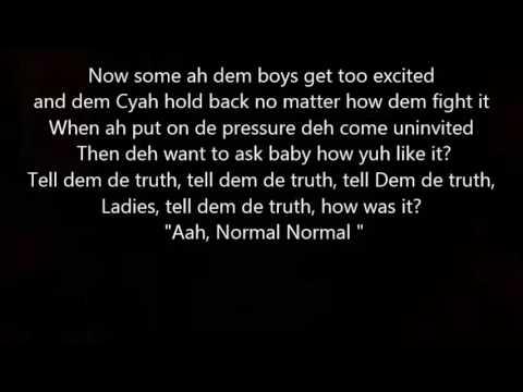 Destra Normal Lyrics