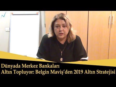 2019 Altın Stratejisi: Merkez Bankaları Altın Topluyor! Altın Ne Olur? Belgin Maviş
