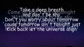 Repeat youtube video [LYRICS] Hot Chelle Rae - Don't Say Goodnight