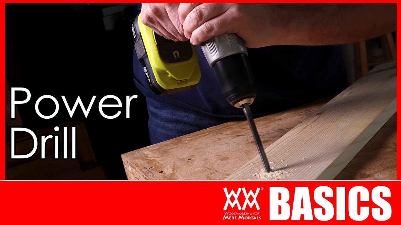 How to Use a Power Drill and Impact Driver   WOODWORKING BASICS