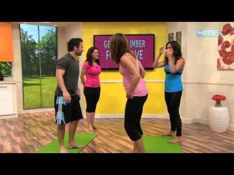 What Would Julieanna do  Yoga for couples