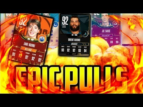 NHL 18 HUT - EPIC PULLS GIFT OF GIVING REWARDS PACK OPENING!!! OMG EPIC PACKS!!