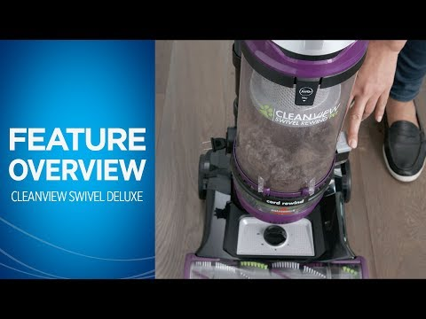 CleanView® Swivel Rewind Pet Deluxe Vacuum Cleaner Overview   BISSELL