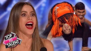 TOP 10 AMAZING Dance Auditions On America's Got Talent 2020!