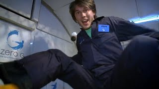 Brian Cox Experiences Zero Gravity! - World Space Week - Wonders of the Universe - BBC