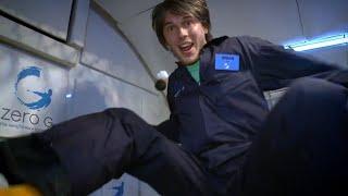 Brian Cox Experiences Zero Gravity! - World Space Week - Wonders of the Universe - BBC
