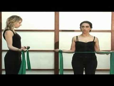 Ejercicios con banda elastica - Vidaactiva FSFB - YouTube