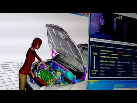 Jack Human Simulation for Automotive Production