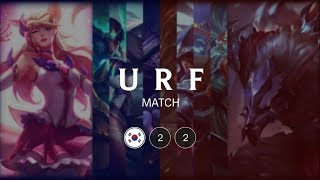 URF Match #22 | All Random Ultra Rapid Fire