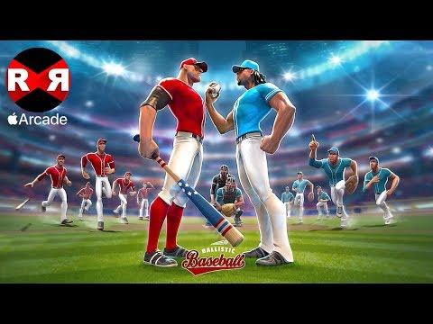 Ballistic Baseball (by Gameloft) - iOS (Apple Arcade) Gameplay
