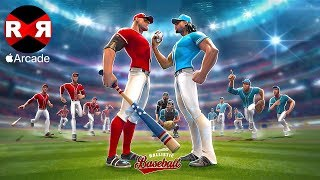 Ballistic Baseball (by Gameloft) - iOS (Apple Arcade) Gameplay