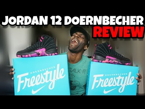 JORDAN 12 DOERNBECHER UNBOXING REVIEW!! WORTH THE HYPE??