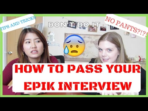 EPIK SERIES: THE INTERVIEW - Tips and Tricks (Teach in Korea)