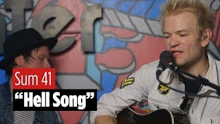 Watch Sum 41 perform their pop-punk anthem as a tender acoustic arr...