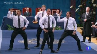 momento haka de los all blacks premiosprincesadeasturias 2017