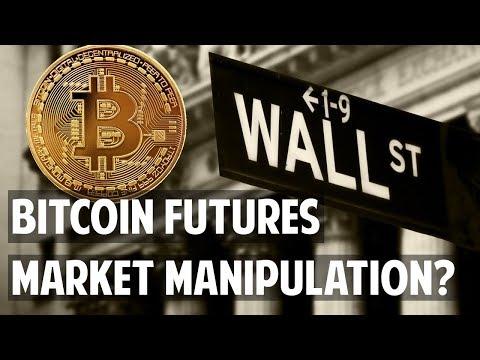 Bitcoin futures conspiracy - market manipulation