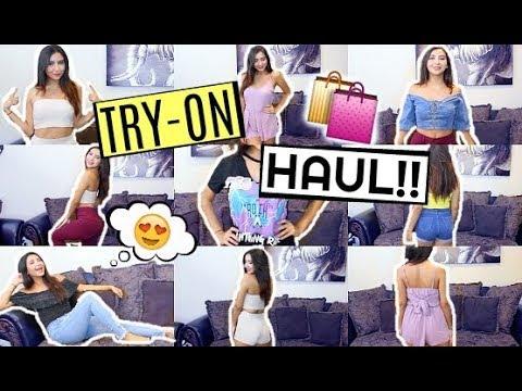 8e4f111d3bd3f HUGE TRY-ON CLOTHING HAUL! ft. fashion nova, shein, ...