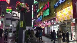 新宿歌舞伎町で流される「ボッタクリ店撲滅」の放送 / ウインドブラストX