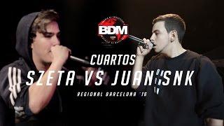 JUAN SNK vs SZETA // CUARTOS BDM BARCELONA 2016 Resimi
