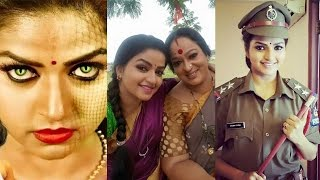 Nandhini Serial Actress Nithya Ram Family Photos