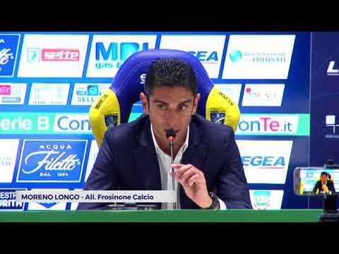 """CALCIO: Castori operaio a Frosinone """"Un vanto"""", Longo contento a metà   VIDEO"""