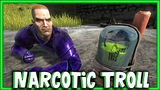 ARK: Survival Evolved - Narcotic Trip Wire TROLL! [32]