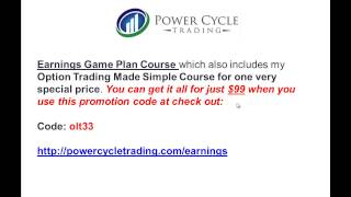 Non Directional Weekly Option Strategy For Big Earnings Profits